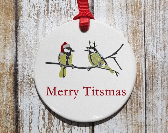 Merry Titsmas Ornament