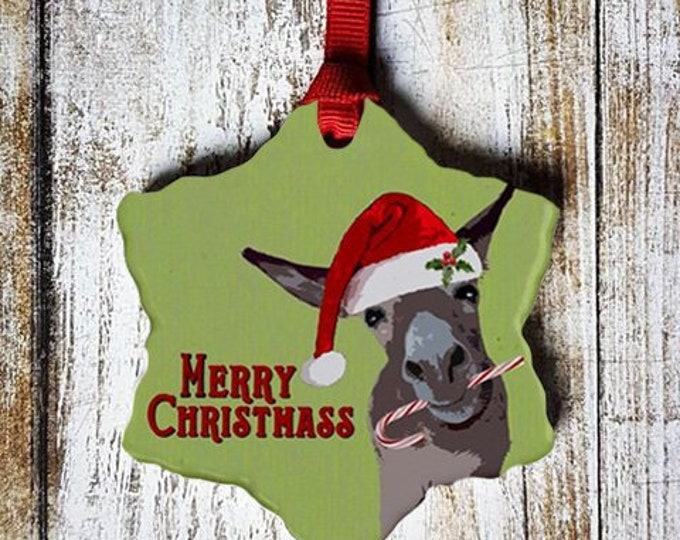 Merry Christmass Ornament