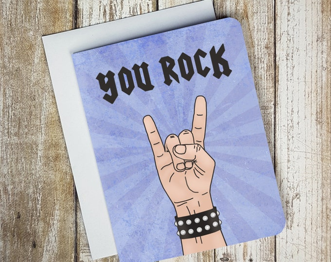 You Rock Card