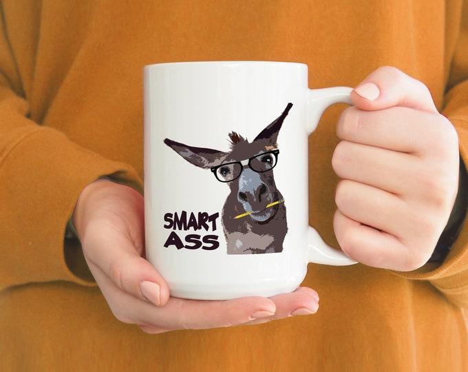 Smart Ass Mug 15oz