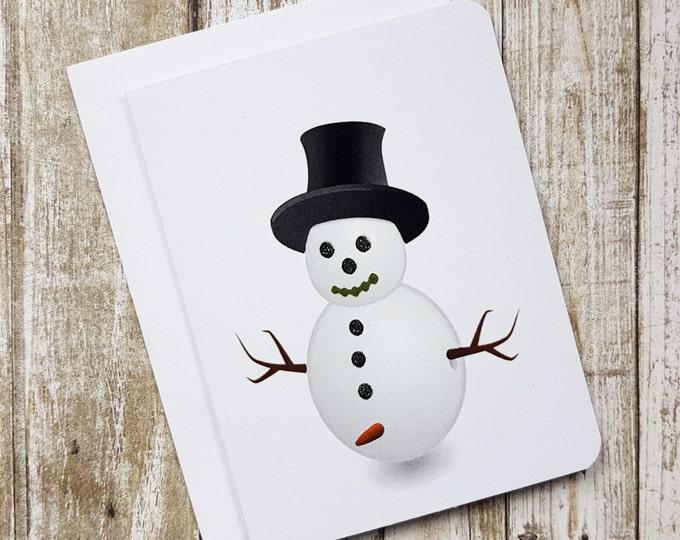 Funny Christmas Card, Naughty Christmas Card, Christmas, Penis Christmas Card, Naughty Snowman, Penis Card, Dick Card, Card for Him, Sn