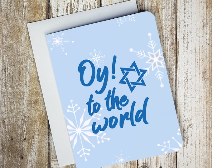 Oy To The World Card