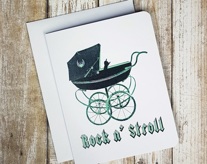 Green Rock'n Stroll Card  Item: C1144