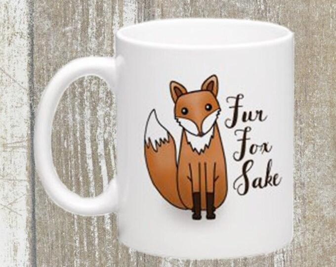 Fur Fox Sake Mug