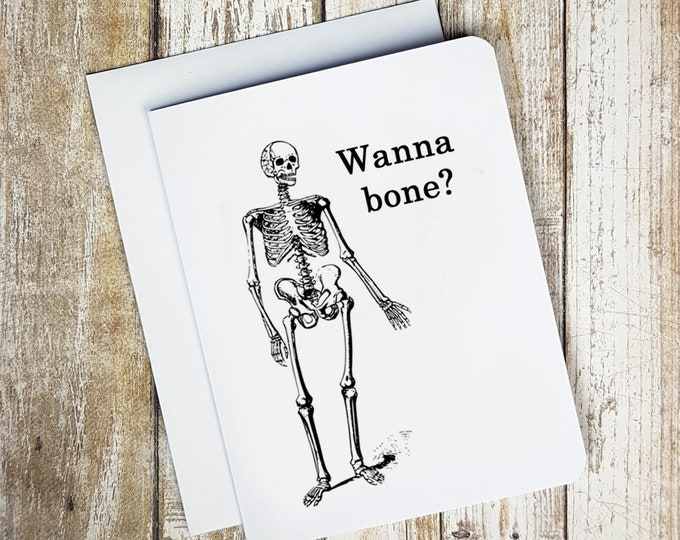 Wanna Bone Card