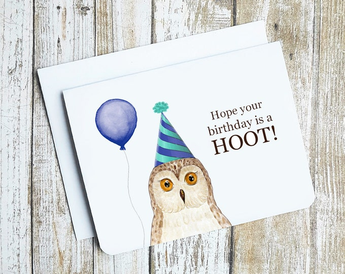 Hope Your Birthday Is A Hoot! Card