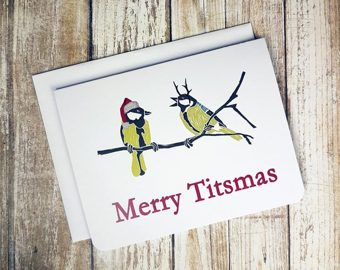 Merry Titsmas Card