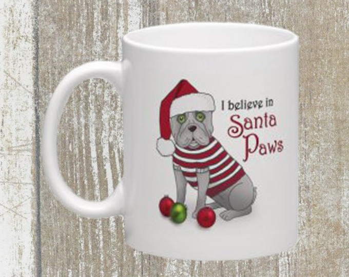 I Believe In Santa Paws Mug