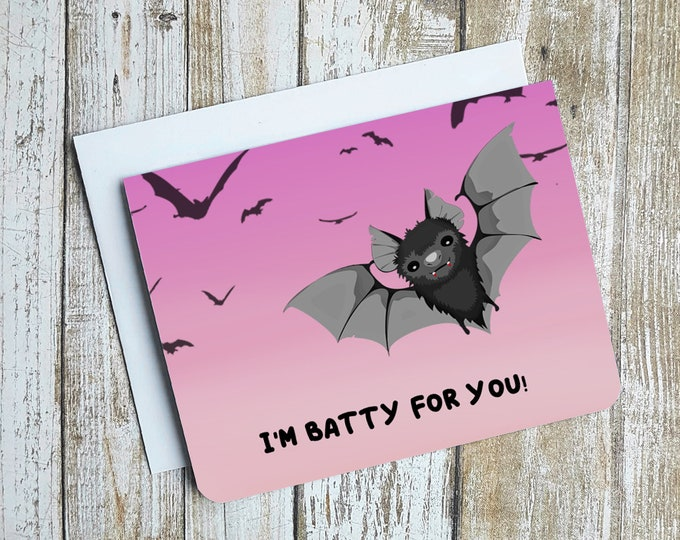 Im Batty For You Card