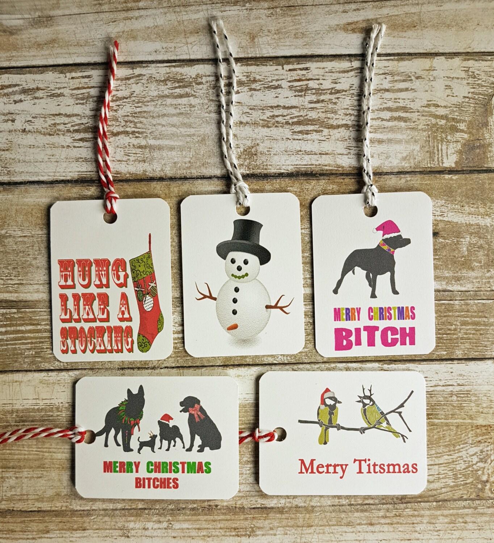 Funny Christmas Gift Tags, Christmas Gift Tags, Christmas Puns ...