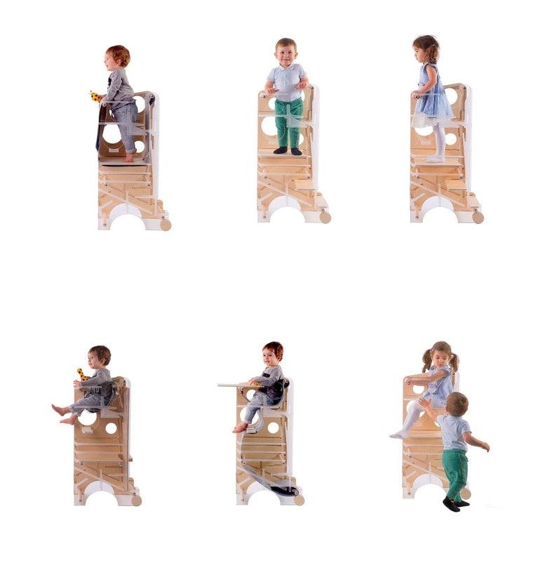 Kinder im Leea Spielturm