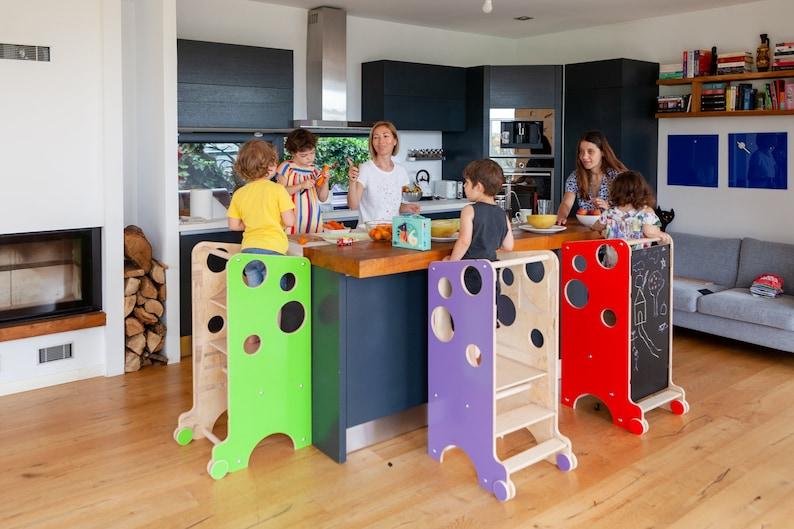 Leea Spiel Turm Hochstuhl Tisch