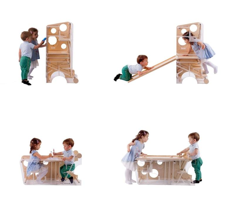 Kinder am Leea Spielturm