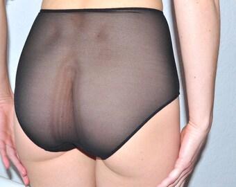630db046e76 Mesh panties   High waist panties   Sheer mesh panties  Many colors mesh    Sexy   Mesh Underpants   See through