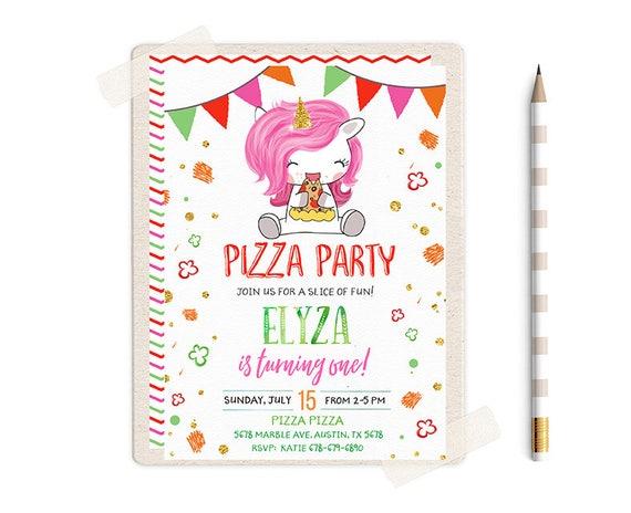 pizza party invitation pizza party invitations pizza etsy