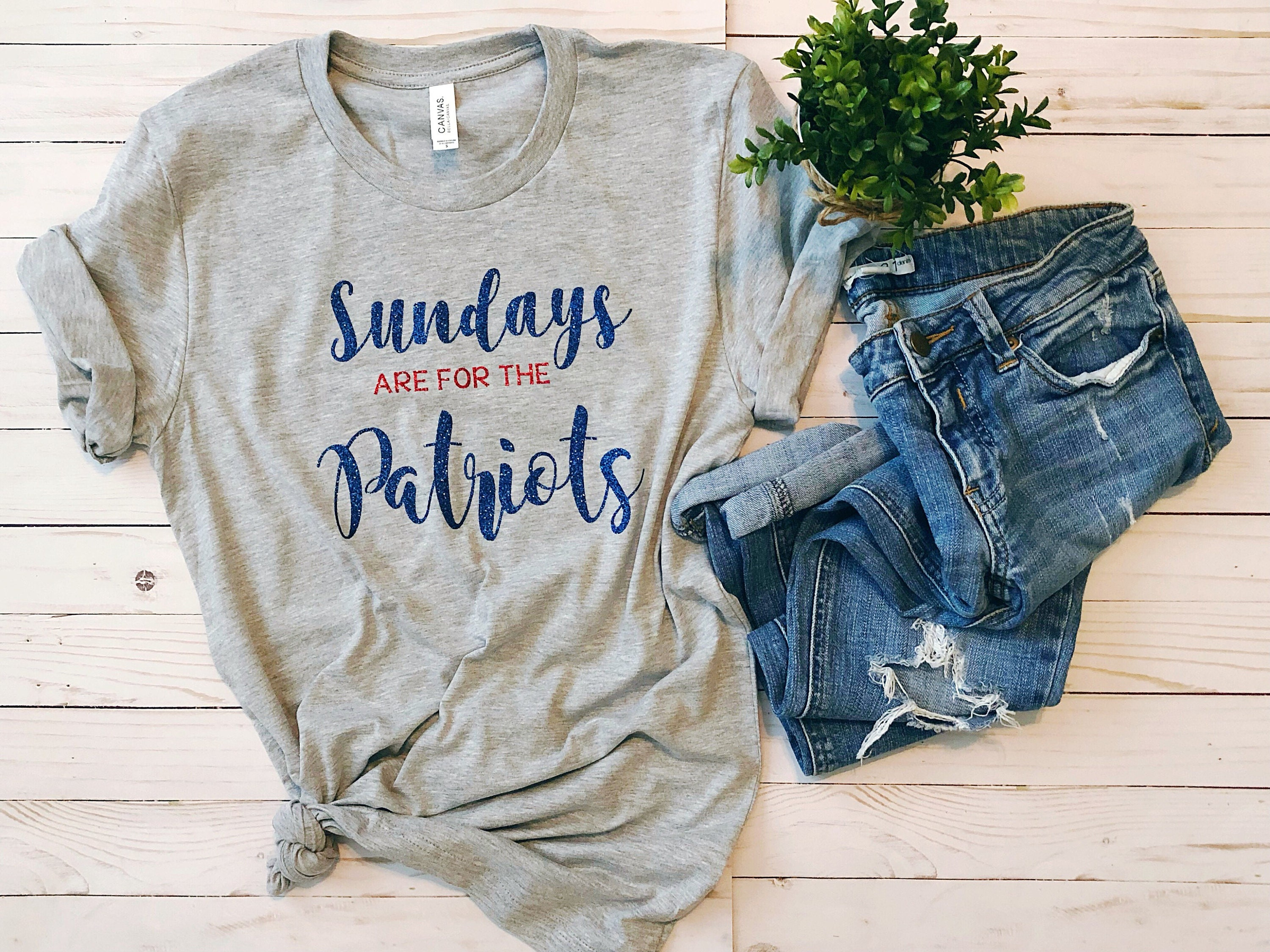 Sundays are for the Patriots, Womens Patriots Shirt, Football Shirt, Patriots Shirt, Subday Funday, Sundays are for football