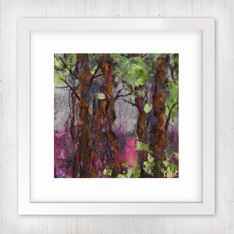 Forest View  Midi  Limited Edition Art Print Forest scene image 0