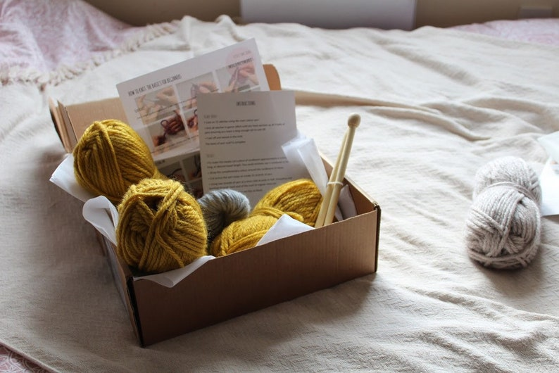 Knitting Kit | Stay at Home Mum