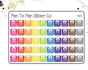 1123~~Weight Tracker Planner Stickers.