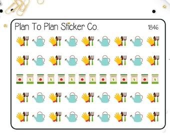 1846~~Gardening Planner Stickers.
