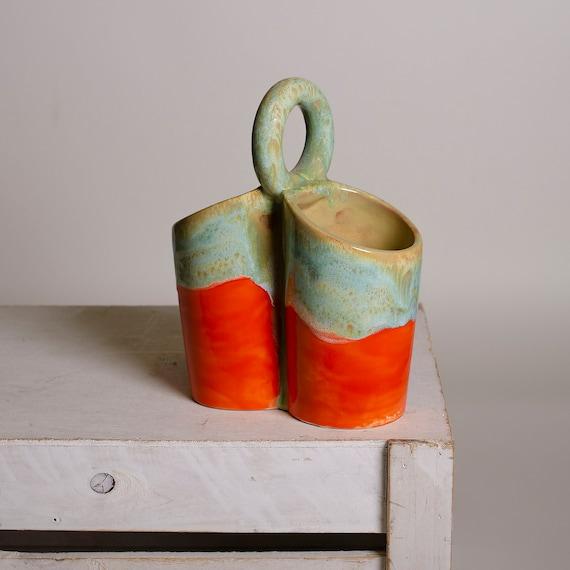 Modern Utensil Holder Ceramic Kitchen Utensil Caddy