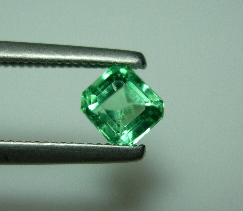 Natural Emerald Loose Gemstone 5 to 7 Cts Each 2 Certified Muzo Colombian Pair