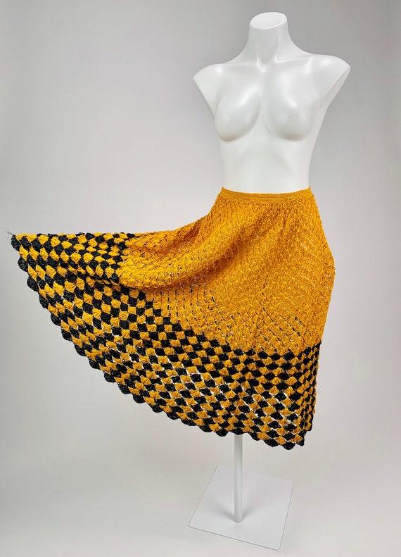 Halloween lover's Vintage 1950's Raffia Crochet or
