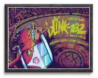 Blink 182 California Custom Silk Poster Wall Decor