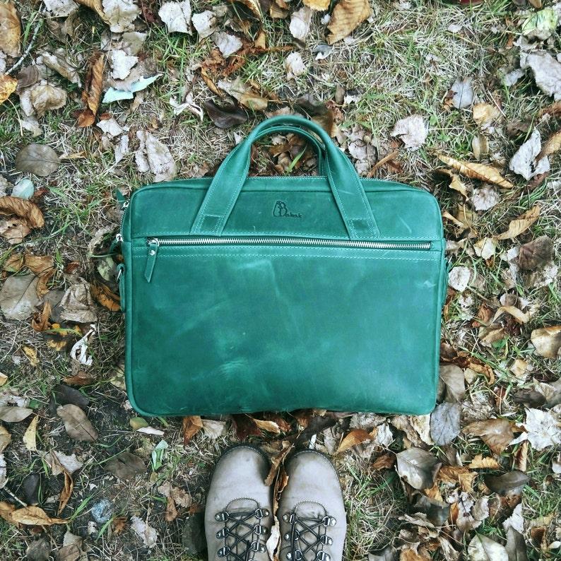 Cuir En Sac 15 Pour Portable Femme Vert Ordinateur PoucesEtsy 7bf6gIyvY