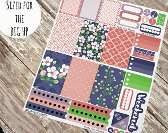 BIG Happy Planner Planner Stickers - Weekly Planner Sticker Set - Happy Planner - Day Designer - Functional stickers - Lilac Cherry