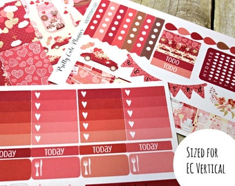 Planner Stickers - Valentine's Day - Valentines Planner Stickers - Erin Condren - Happy Planner -Day Designer - Functional stickers