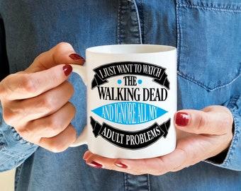 The Walking Dead - The Walking dead Mug - Custom Mug - Funny Mug - Coffee Lovers Mug - Adult coffee mug - Gift for him - Gift for her