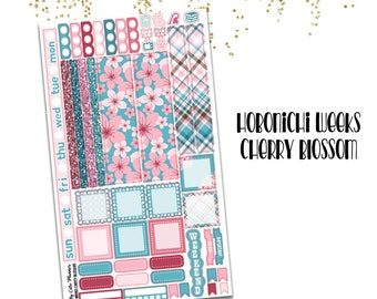 Hobonichi Weeks Stickers - Cherry Blossom - Hobo Weeks Stickers - Weeks stickers - Hobonichi stickers - Hobonichi weeks Mega Stickers