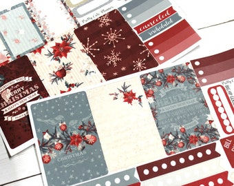 BIG Happy Planner Planner Stickers - Weekly Planner Sticker Set - Happy Planner - Day Designer - Functional stickers - Dear Santa Good-ish