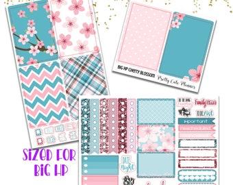 Cherry Blossom BIG Happy Planner Planner Sticker - Weekly Planner Sticker Set - Functional sticker - Summer planner sticker - Cherry Blossom