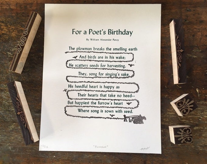 For a Poet's Birthday