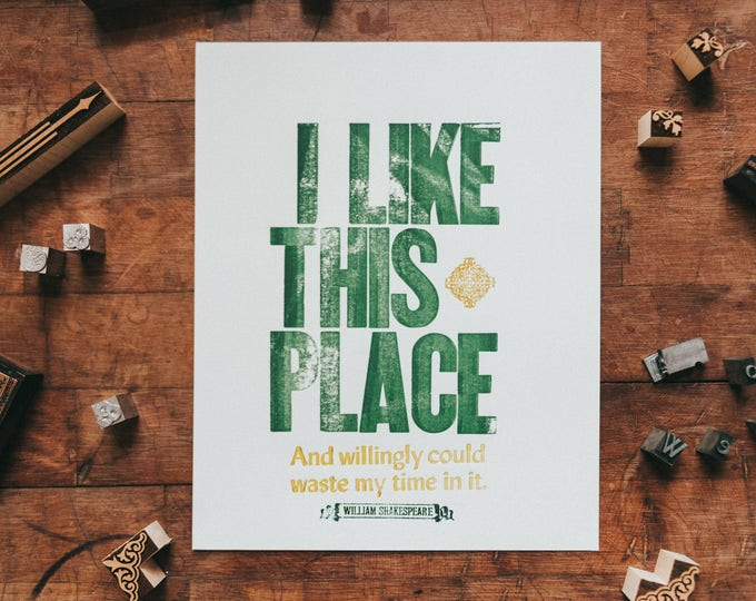 I Like This Place - Shakespeare's As You Like It