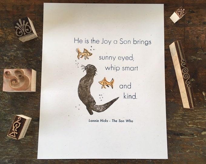 The Joy a Son Brings - Lonnie Hicks