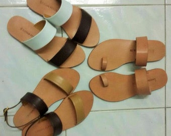 Comfortable Handmade Leather Sandals Made to Measure