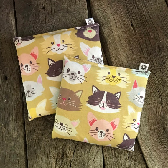 Rice Pack Minis | cats, Aromatherapy rice bag, hot and cold therapy, Flax Seed, Microwaveable Rice Heat Pad