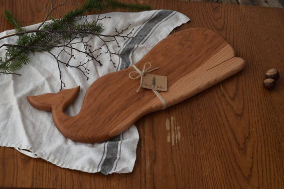the Whale | MADE TO ORDER Hickory bread board