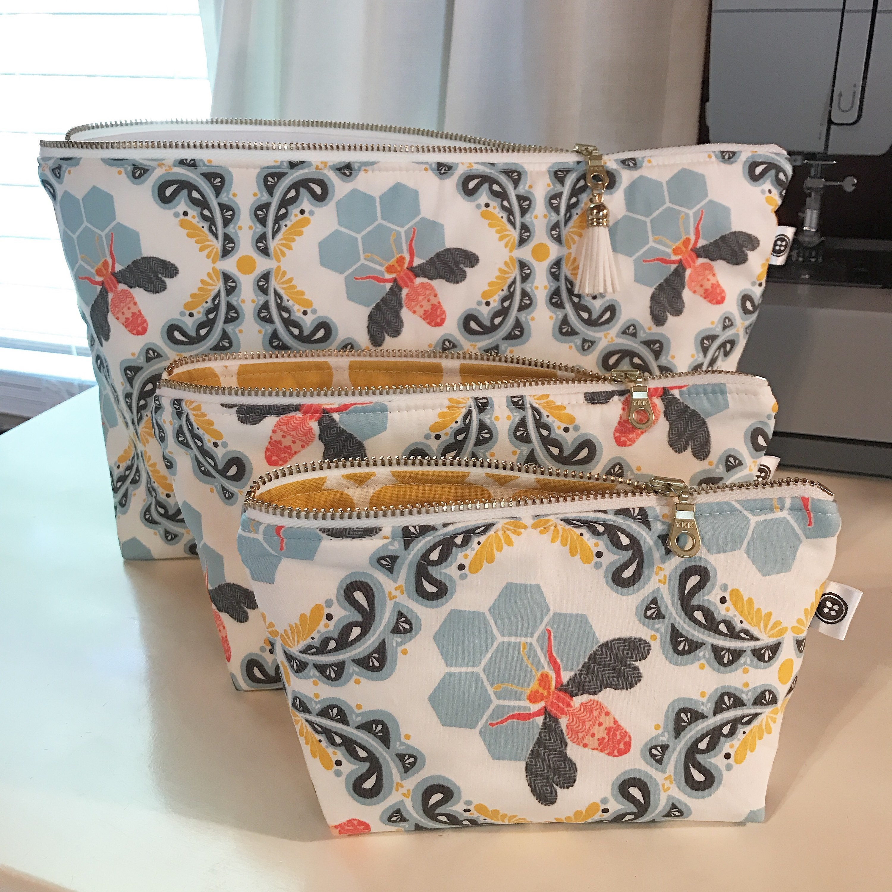 design your own make up bag made to order zipper pouch pencil