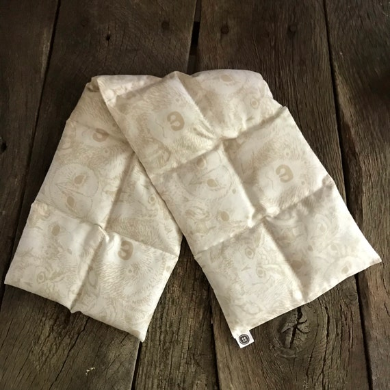 Rice Pack | woodland faces, Aromatherapy rice bag, hot and cold therapy, Flax Seed, Microwaveable Rice Heat Pad