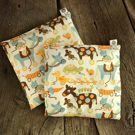 Rice Pack Minis | pull toys, Aromatherapy rice bag, hot and cold therapy, Flax Seed, Microwaveable Rice Heat Pad