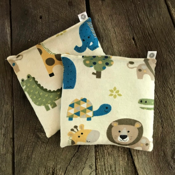 Rice Pack Minis | zoo, Flannel Aromatherapy rice bag, hot and cold therapy, Flax Seed, Microwaveable Rice Heat Pad