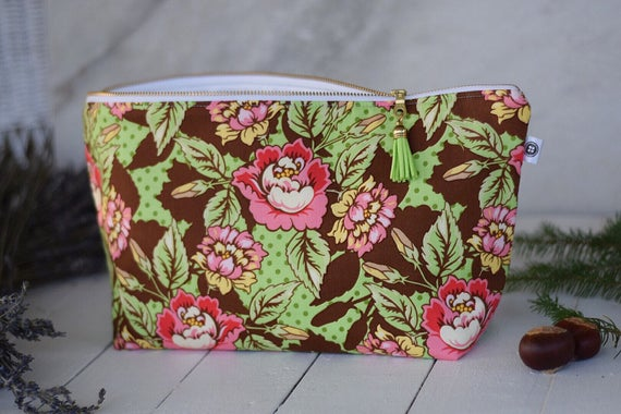 Extra Large Water Resistant Bag | Flower Garden