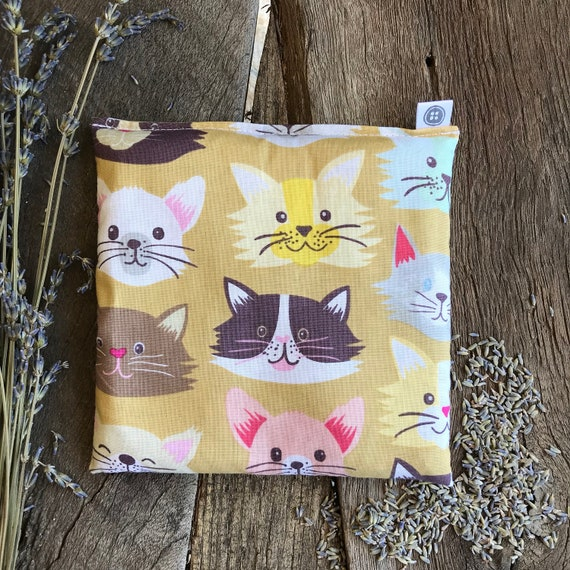 Rice Pack Minis   cats, Aromatherapy rice bag, hot and cold therapy, Flax Seed, Microwaveable Rice Heat Pad