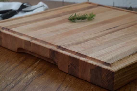 the Butcher | MADE TO ORDER Ambrosia Maple chopping block, bread board, cheese board, cutting board, serving board