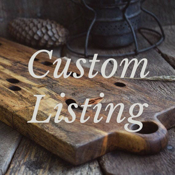 Custom Listing for Josh Waymack