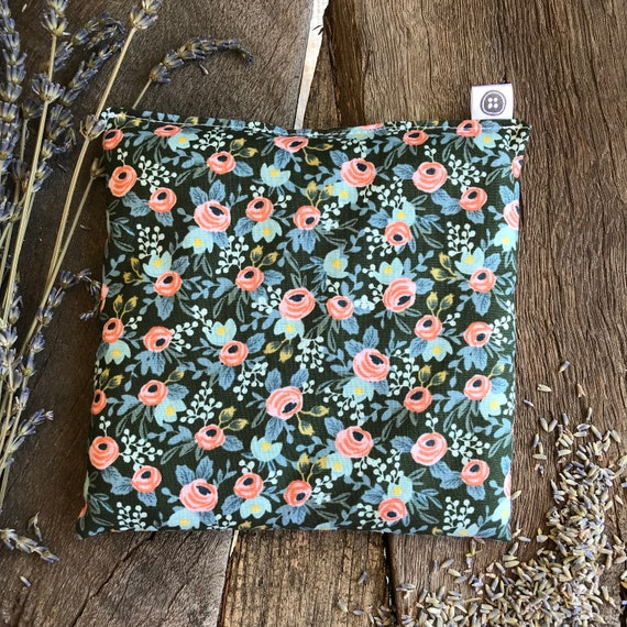 Rice Pack Minis | rifel paper floral, Aromatherapy rice bag, hot and cold therapy, Flax Seed, Microwaveable Rice Heat Pad